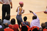 Rihanna 89x braless in sheer top - Thunder vs. Clippers (game 6) - 5.15.2014