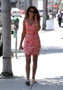 Sofia Milos - *Leggy* @ Beverly Hills Nail Design 27-06-2011