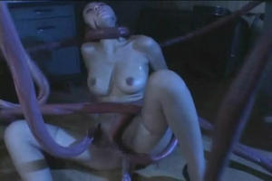 girl fucked by tentacles