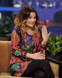 Дрю Бэрримор, фото 2849. Drew Barrymore 'The Tonight Show with Jay Leno' in Burbank - 02.02.2012*>> Video <<, foto 2849,