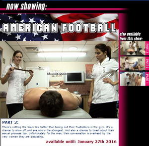 cfnmtv: American Football (Part 1-3)