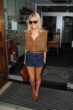 Mollie King | Arriving @ the Radio One Studios in London | August 29 | 11 leggy pics