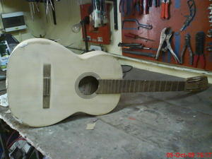 reparar pala guitarra