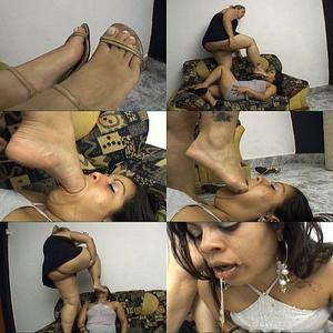 Brazilian feet gag and brother punished 2