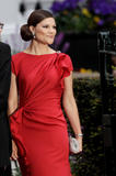 Виктория Принцесса Швеции, фото 1. Princess Victoria Of Sweden Royal Wedding - Pre-Wedding Dinner in London, photo 1